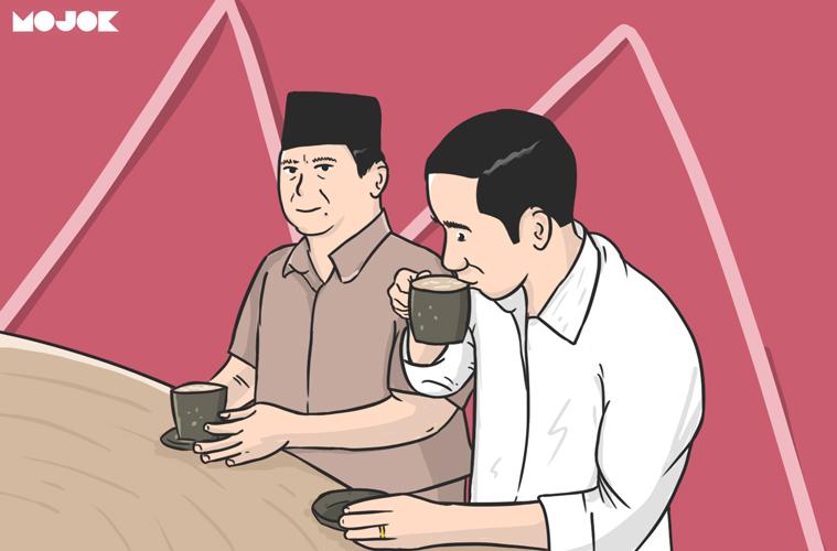 jokowi, prabowo, dan kopi susu MOJOK.CO