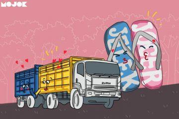 truk boks sandal joger