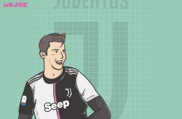 Cristiano Ronaldo Juventus MOJOK.CO