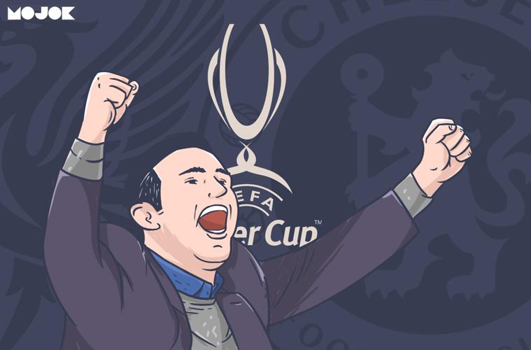 Piala Super Eropa Liverpool vs Chelsea Lampard MOJOK.CO