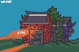 anggaran VPN kemenag pakai VPN untuk keamanan cara pakai VPN langganan VPN untuk nonton bokep DPR Ihsan nizar netflix telkomsel johny g plate mojok.co