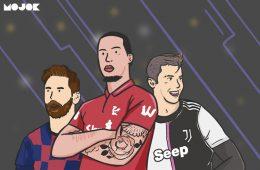 Undian Liga Champions: Kharisma Virgil van Dijk dan Patahnya Duodrama Ronaldo-Messi MOJOK.CO
