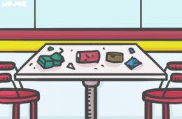 buang sampah sembarangan di indomart dan alfamart, nongkrong di minimarket MOJOK.CO