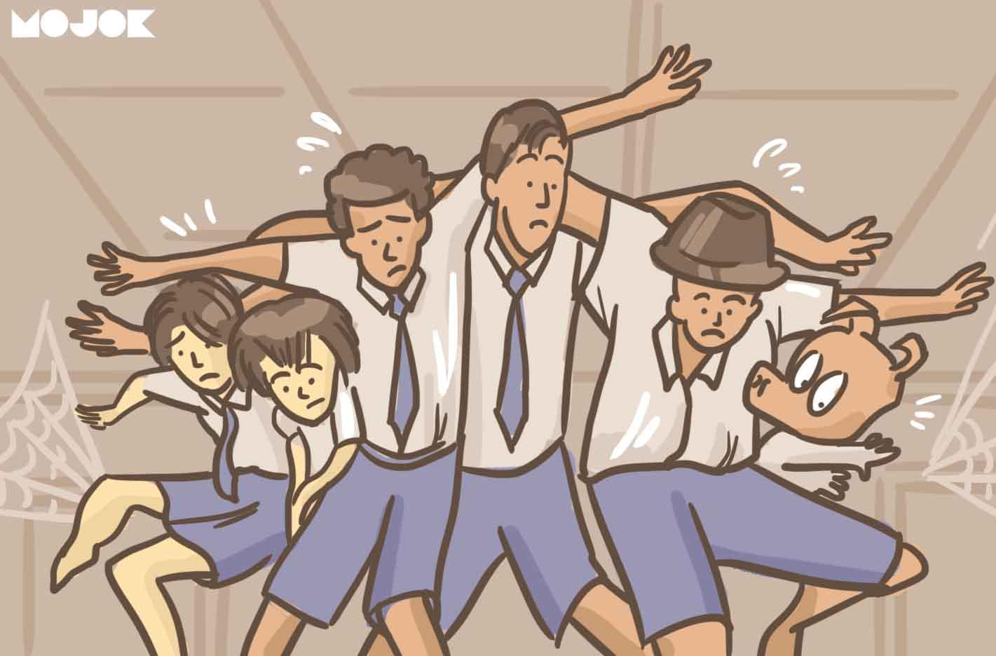 5 Kisah Penyelamatan Diri Dari Razia Di Sekolah Mojok