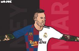 neymar menjerat real madrid dan barcelona MOJOK.CO