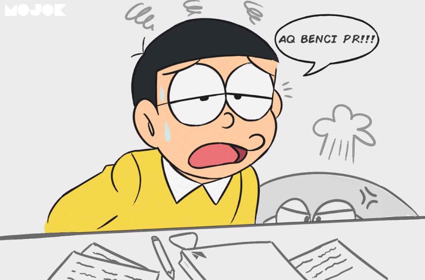 Merayakan Ulang Tahun Nobita Bucin Pemalas Nomor Satu Di