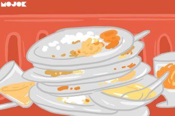 buang makanan sisa makan dibungkus makan dibawa pulang makan di tempat makanan nggak enak makanan enak mojok.co