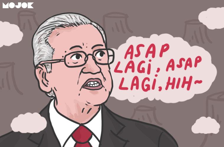 Kabut Asap di Riau dan Pemerintah Kita yang Sibuk Berdebat dengan Malaysia MOJOK.CO