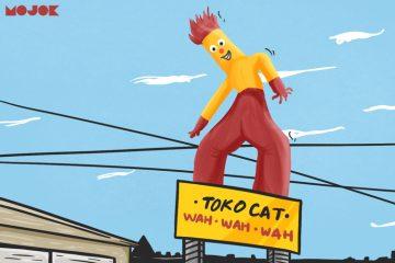 agus mulyadi toko cat wawawa toko cat warna abadi asal-usul boneka angin sejarah nama warna abadi wawawa pemilik toko cat warna abadi video lucu meme