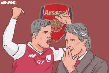 Kemarahan Xhaka dan Cara Emery Menumpuk Bangkai di Gudang Arsenal MOJOK.CO