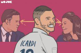 Kasus Vardy dan Rooney Itu Biasa, Belum Levelnya Bucin Mauro Icardi MOJOK.CO