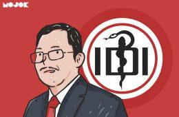 dr terawan cuci otak brainwash menteri kesehatan ditolak idi ikatan dokter indonesia naik pangkat letjen dr broto
