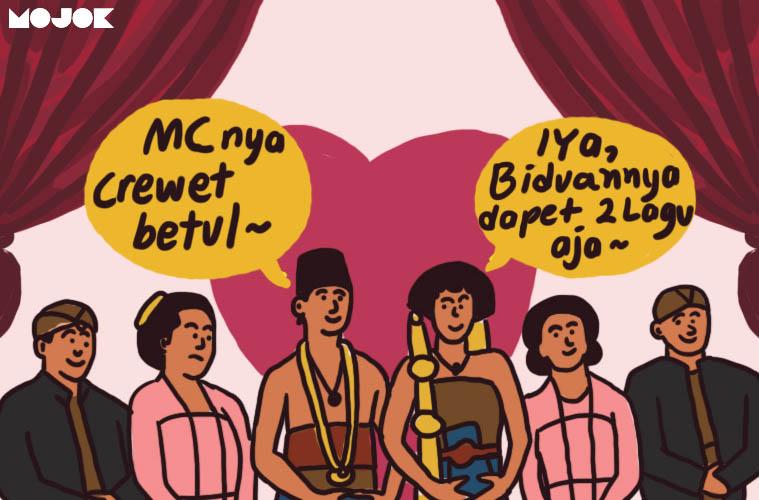 Kesel Sama MC Nikahan yang Kebanyakan Ngomong