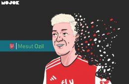 Ozil vs Emery MOJOK.CO