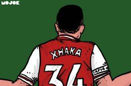 Apologia Granit Xhaka: Punggung Kapten Arsenal dan Kelam Selebritas