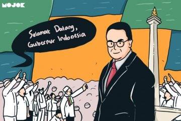 Anies Baswedan Disambut Sebagai 'Gubernur Indonesia' oleh Panitia Reuni 212
