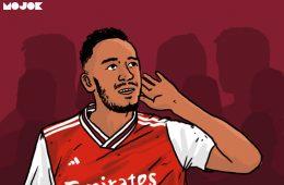 Titik Genting Aubameyang dan Cacat Manajemen Arsenal