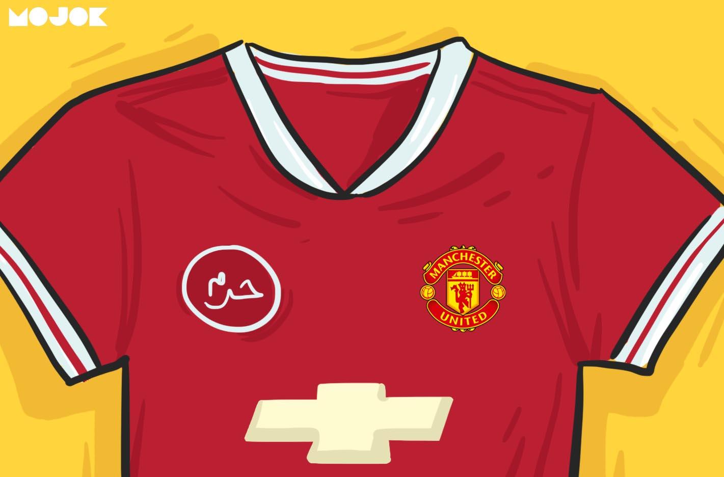 Kaos Manchester United Katanya Haram Betapa Nggak