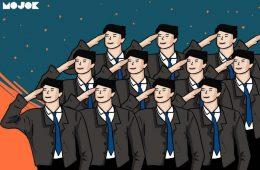 prabowo subianto wajib militer komponen cadangan siswa smp sma uu psdn kemendikbud nadiem makarim menteri pertahanan
