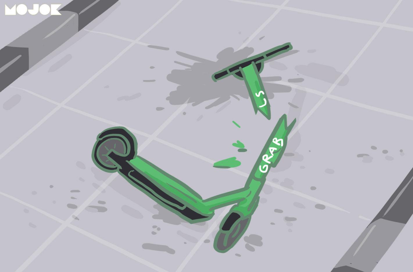 2-pengendara-skuter-listrik-tewas-tertabrak-mobil