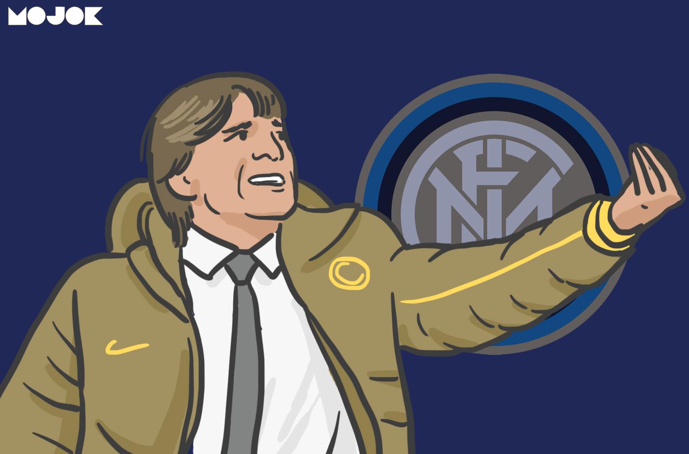 The Creation Of Adam Dan Inter Milan Yang Kehilangan