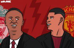 Alat Saring Liverpool dan Manchester United, Superioritas Mane dan Rashford MOJOK.CO