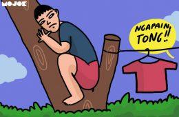 Kadang Kita Harus Sadar, Semakin Dewasa, Kita Semakin Tak Becus Memanjat Pohon