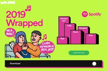tulus andmest cinta luar biasa spotify wrapped 2019 indonesia mojok.co
