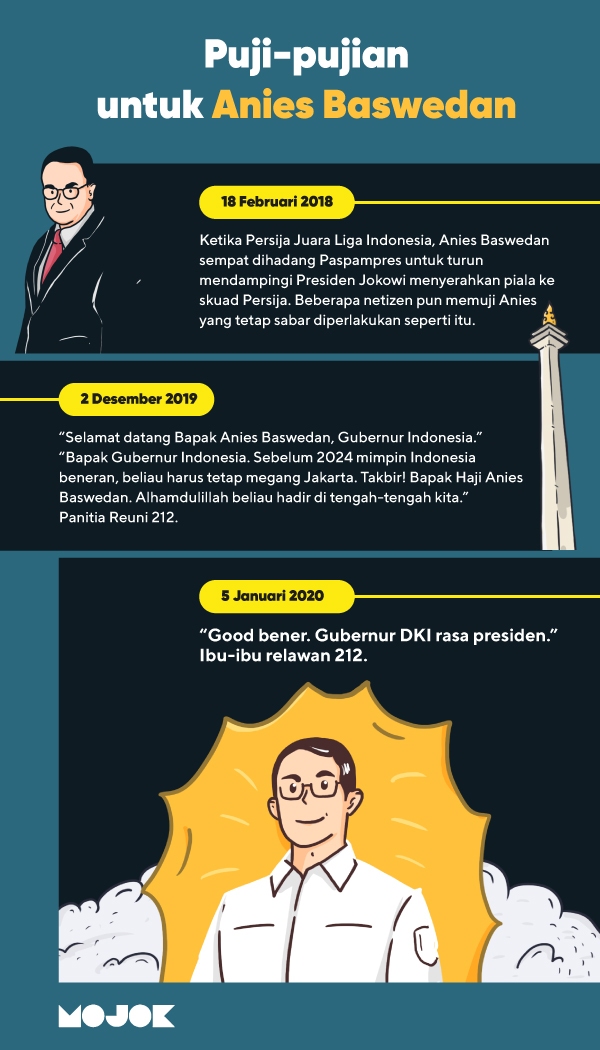 Anies Baswedan Disebut Relawan 212 'Gubernur Rasa Presiden', Golkar: Lebay