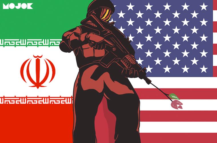perang dunia III world war III indonesia iran amerika serikat donald trump ayatullah ali khamenei qasem soleimani ghost fleet politik internasional prediksi mojok.co
