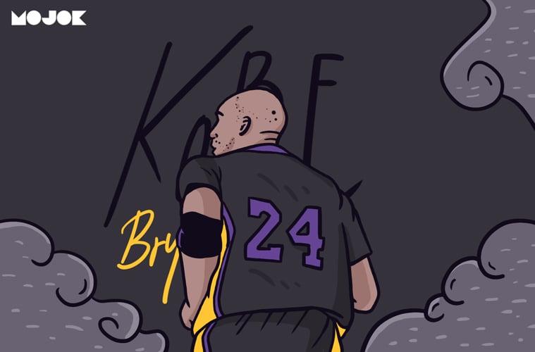 Kobe Bryant NBA basket black mamba MOJOK.CO