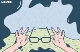 orang berkacamata derita orang kacamata berkacamata saat hujan lensa anti air elon musk