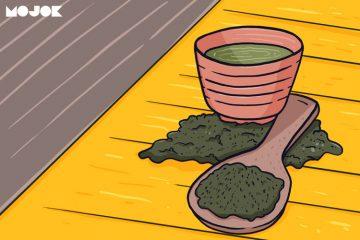 manfaat teh hijau teh tubruk daun teh MOJOK.CO
