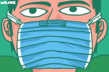 cara pakai masker virus corona pencegahan virus corona menular masker n95 masker bedah masker n99 n100 masker operasi wuhan virus china senjata biologis respirator mojok.co