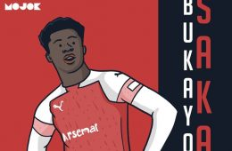 Bukayo Saka Arsenal MOJOK.CO