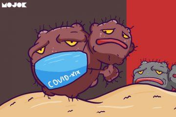 presiden jokowi umumkan WNI postif corona karena kontak dengan pasien jepang transit malaysia kemenkes terawan masker corona pencegahan agar tidak tertular virus corona masker n95 harga masker mojok.co