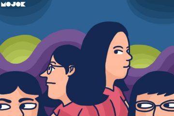 kemauan untuk didominasi kesadaran palsu BEM FT UNJ foto pengurus perempuan BEM FMIPA UNJ diblur diganti kartun SJW feminis konstruksi sosial teori gender