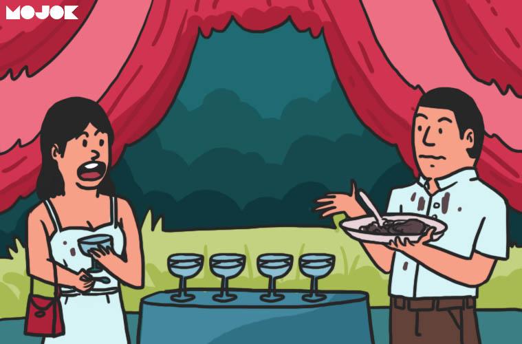 Kritik untuk Menu Prasmanan Katering Kawinan yang Merepotkan