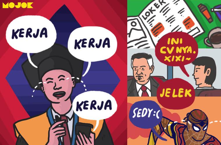 pertanyaan interview kerja cara menjawab contoh cv yang baik cara mengirim email lamaran kerja yang tidak boleh dilakukan saat melamar kerja vice indonesia ardyan m erlangga pluang.com putri fitria hipwee.com mojok.co
