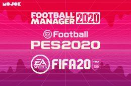 Football Manager, FIFA, PES mojok.co