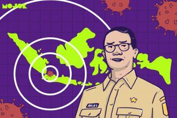 Jakarta Jadi Epicenter COVID-19, Anies Minta Warga Jakarta Tidak Keluar Kota