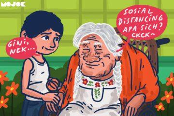 Simbah di Desa Tanya: 'Social Distancing' itu Makanan Apa?