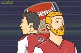 Arsenal Cuci Gudang, Mesut Ozil dan Shkodran Mustafi Harus Dipertahankan