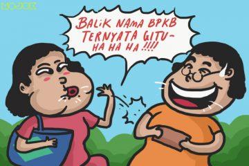 balik nama bpkb nama terbalik dompet hilang pelabuhan mop anado mop papua jokes orang timur guyonan timur WIT mojok.co