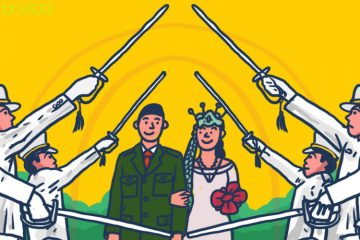 percintaan pernikahan jodoh anggota tni tamtama bintara perwira andika perkasa menantu jenderal akmil secapa kowad mojok.co