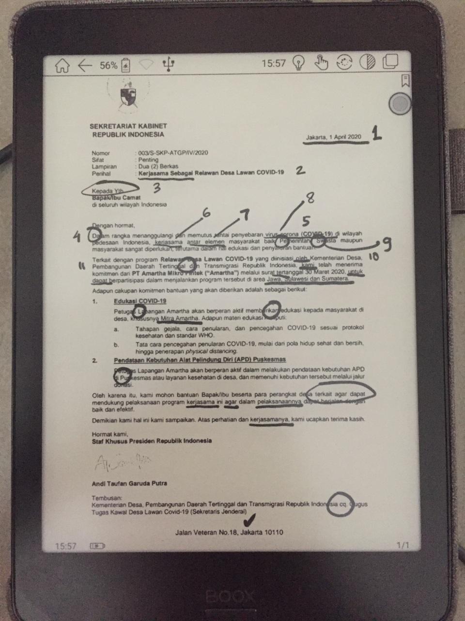 surat andi taufan garuda putra kepada camat di seluruh indonesia mojok.co