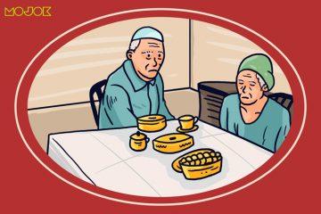 kakek nenek sedih