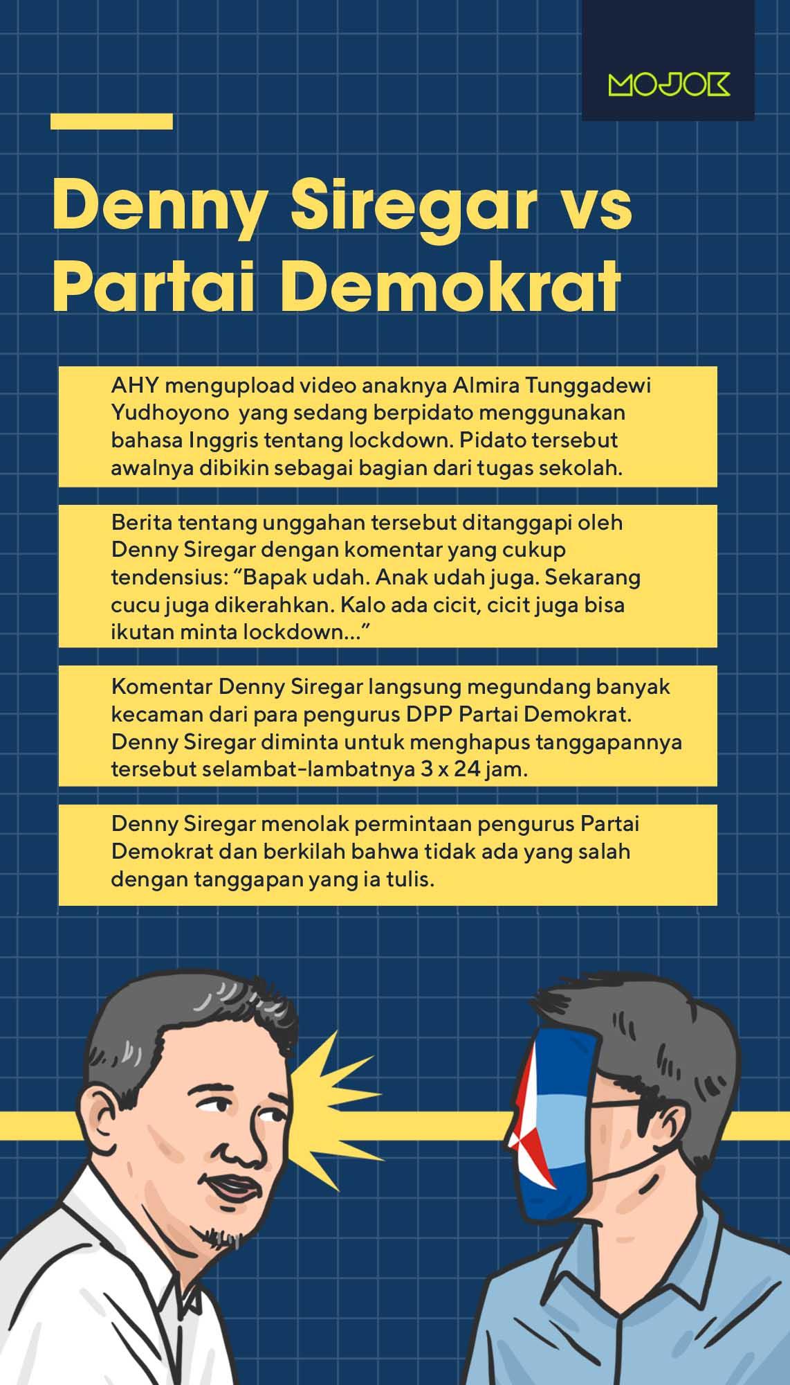 denny siregar, SBY, demokrat mojok.co
