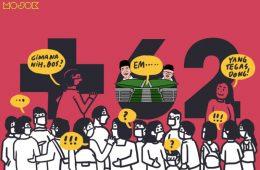 masyarakat tidak disiplin rebel melanggar PSBB social distancing mal ciputat pasar bogor new normal berlaku mal dibuka pandemi warga indonesia tidak taat aturan pemerintah tidak tegas mojok.co