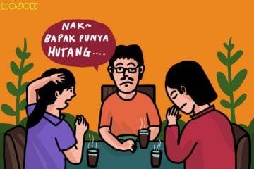 Dilema Jadi Anak Ketika Orang Tua Nggak Jujur Punya Utang MOJOK.CO